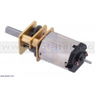 3076 - 150:1 Micro Metal Gearmotor HPCB with Extended Motor Shaft