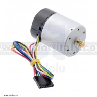 2821 - Motor with 64 CPR Encoder for 37D mm Metal Gearmotors (No Gearbox)
