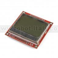 LCD Grafico 84x48 - Nokia 3310/5110