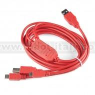 SparkFun Cerberus USB Cable - 180cm