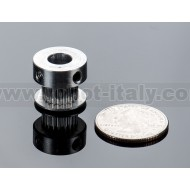 Aluminum GT2 Timing Pulley - 6mm Belt - 20 Tooth - 8mm Bore -