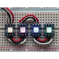 Breadboard-friendly RGB Smart NeoPixel - Pack of 4