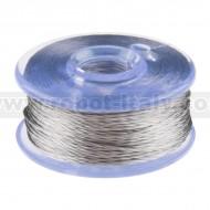 Smooth Thread Bobbin - 12m (Stainless Steel)