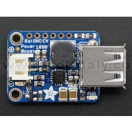 PowerBoost 1000 Basic - 5V USB Boost @ 1000mA from 1.8V+