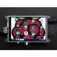 "PiTFT - Assembled 480x320 3.5"" TFT+Touchscreen for Raspberry Pi"