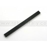 Strip Femmina Tornito Passo 2,54 - 36 pin