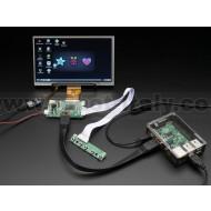 "HDMI 4 Pi: 7"" Display w/Touchscreen 1024x600 w/ Mini Driver"