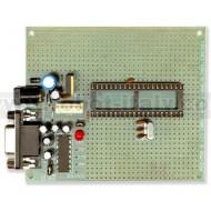 PIC-P40 Proto Board per PICMicro a 40pin 20Mhz