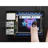 "Adafruit PiTFT 2.4"" HAT Mini Kit - 320x240 TFT Touchscreen"