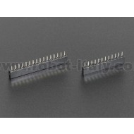Short Feather Headers Kit - 12-pin and 16-pin Female Header Set