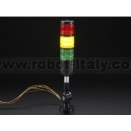 Tower Light - Red Yellow Green Alert Light with Buzzer - 12VDC