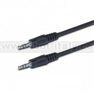 Cavo Audio Stereo Jack 3.5 mm M/M 180cm