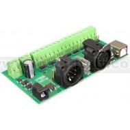DMX-USB-RX-D8 DMX512, 8-channel Digital Output Module