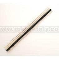 Strip Maschio Passo 2,54  - 40 pin
