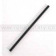 Strip Femmina Tornito Passo 2,54  - 32 pin