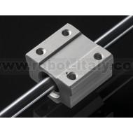 Supporto con cuscinetto lineare (piccolo) - 8mm diametro