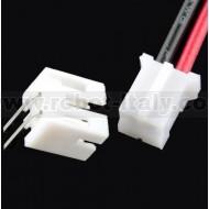 Cavo + Connettore da PCB tipo JST - 2 poli