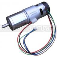 EMG49 - Motoriduttore 24V 122RPM con encoder