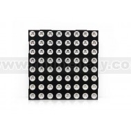 Matrice a led Bicolore (rosso/verde) 8x8 60mm