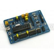 MuIn USB - PIC18F2550 Multi Interface USB Board