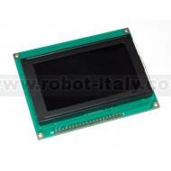 MONOCHRON KS0108 Graphic LCD - white on black