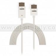 Cavo HDMI High Speed con Ethernet Ultra Slim 3 m