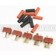 FullPower - Spina tipo DEANS 5 pz + termoretraibile