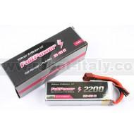 FullPower - Batteria Lipo 4S 5200mAh 35C Silver Edition V2 spina tipo DEANS
