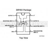 LM358N - Amplificatore operazionale duale