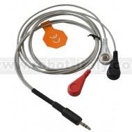SHIELD-EKG-EMG-PRO - PROFESSIONAL EKG-EMG CABLE WITH SNAP CONNECTOR FOR GEL ECG ELECTRODES