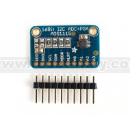 ADS1115 16-Bit ADC - 4 Channel with Progrmmable Gain Amplifier