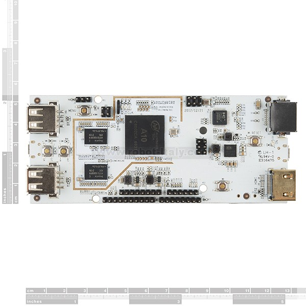 The pcDuino Lite is a high performance, cost effective mini PC