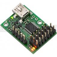 1350 - Micro Maestro 6-Channel USB Servo Controller (Assembled)