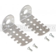 1138 - Pololu 20D mm Metal Gearmotor Bracket Pair