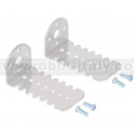 2676 - Pololu 25D mm Metal Gearmotor Bracket Pair