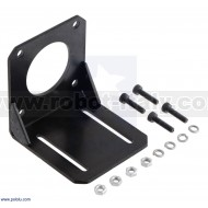 2258 - Steel L-Bracket for NEMA 23 Stepper Motors