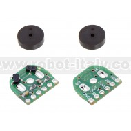 3081 - Magnetic Encoder Pair Kit for Micro Metal Gearmotors, 12 CPR, 2.7-18V (HPCB compatible)