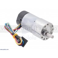 2827 - 131:1 Metal Gearmotor 37Dx73L mm with 64 CPR Encoder