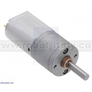 3452 - 63:1 Metal Gearmotor 20Dx43L mm 6V
