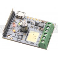 3132 - Tic T834 USB Multi-Interface Stepper Motor Controller (Connectors Soldered)