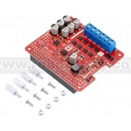 3753 - Pololu Dual G2 High-Power Motor Driver 24v14 for Raspberry Pi (Assembled)