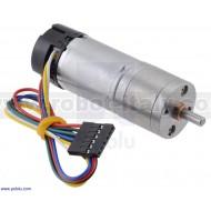 4887 - 99:1 Metal Gearmotor 25Dx69L mm LP 12V with 48 CPR Encoder