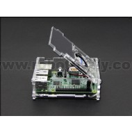 Raspberry Pi B+/2 Acrylic Enclosure w/ CPU Fan