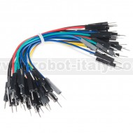 """Jumper Wires Premium 4"""" M/M - 20 AWG (30 Pack)"""