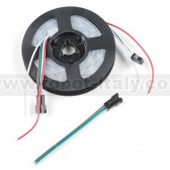 LED RGB Strip - Addressable, Sealed, 1m (APA104)