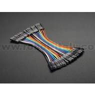 "Premium Female/Female Jumper Wires - 20 x 3"" (75mm)"