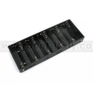 Battery holder for 10 AA Batteries