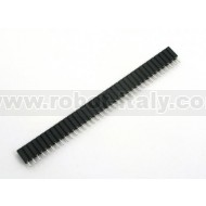 "Female strip, rounded - 0,1"" pitch - 36pin"