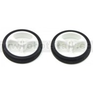 Pololu Wheel 32x7mm Pair - White