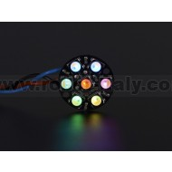 NeoPixel Jewel - 7 x 5050 RGBW LED w/ Integrated Drivers - Warm White - ~3000K